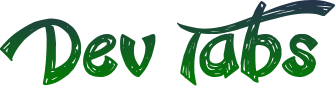 Dev Tabs Extension Logo